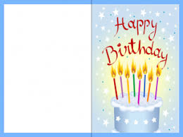 Birthday Card Printout Birthday Card Templates Memberpro Co