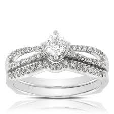 diamond bridal sets ikuma canadian diamond bridal set 14k ben bridge jeweler