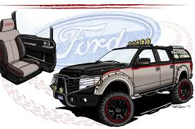 monster truck shows 2013 2013 sema show lifted ford trucks of the ford dreamcase photo