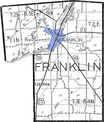 Warren Ohio Map by Clickable Warren County Map
