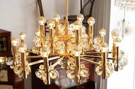 Czech Crystal Chandeliers Large Crystal Chandelier 1960s For Sale At Pamono