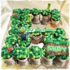 minecraft cupcake ideas pull apart cupcakes for minecraft themed birthday party