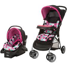 minnie mouse dotty lift stroll travel system safety