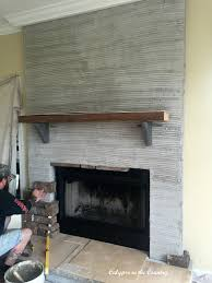 my fireplace before and after calypso in the country