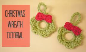 crochet christmas wreath tutorial bella coco youtube