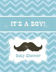 baby boy shower vector illustration royalty free cliparts vectors