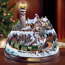 the kinkade seaside hammacher schlemmer