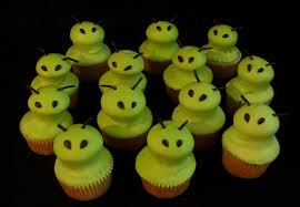 Halloween Baby Shower Cupcakes by Halloween The Twisted Sifter