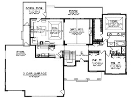 craftsman home plan branhill craftsman style home plan 051d 0664 house plans and more