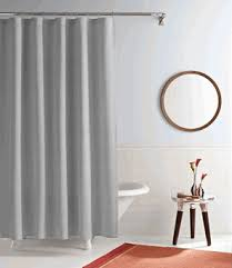 Simple Shower Curtains Real Simple Linear Curtain Panels And Shower Curtains Real