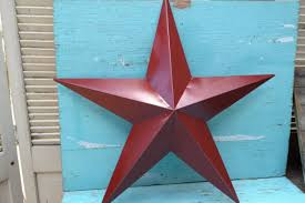 metal star home decor large rustic red distressed metal star wall hanger home decor red