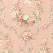 Cottage Quilts And Fabrics by Somerset Cottage Quilting Fabric Roses And Ribbons On Pink By