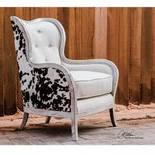 chalina bone white 42 inch arm chair uttermost arm chairs accent