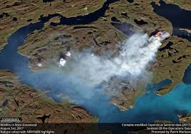Alaska Fires Permafrost by Wildfires Are Burning In Greenland U2013 Wildfire Today