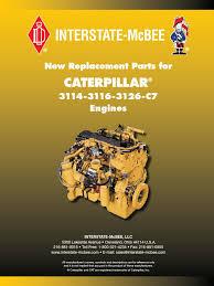 interstate mcbee engine parts for caterpillar piston fuel