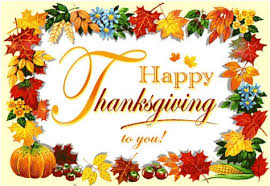 happy thanksgiving and happy anniversary
