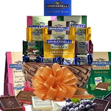 bulk gift baskets ghirardelli chocolate gift basket delivers within 24 hours