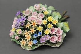 capodimonte roses porcellane di capodimonte bouquet millecolori capodimonte
