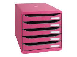 bloc de classement bureau exacompta big box plus bloc de classement à tiroirs 5
