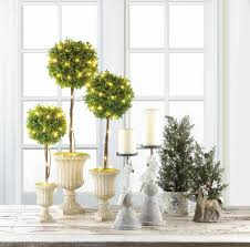 birch tree pine sprig topiary wholesale at koehler home decor
