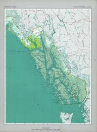 Map Of America Alaska by The National Atlas Of The United States Of America Perry