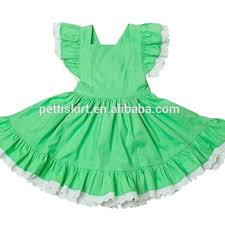 plain green dress little boutique remake clothing set baby