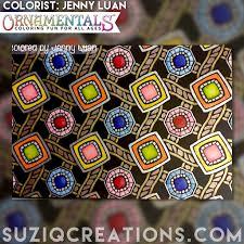 ornamentals lights out coloring book suziq creations