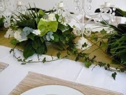 dã coration de table de mariage chemin table floral autour du chandelier candelabras