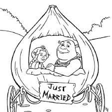 shrek princess fiona onion carriage married