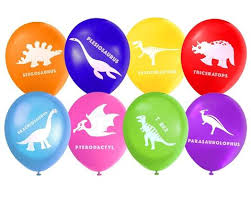 party balloons dinosaur party balloons pack of 8 lello and monkey