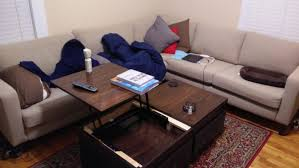 rectangle ana white lift top coffee table diy projects img with