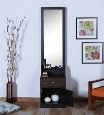 vanity table for living room buy crysler dressing table in wenge finish by crystal furnitech