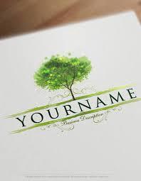 creative font design online exclusive design creative tree logo free business card
