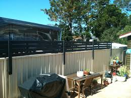 wood privacy screen to attach to colourbond fence 5 steps