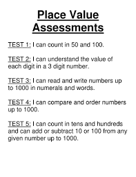 maths place value assessment tests year 3 by vcurrie19