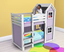 Dollhouse Toddler Bed My Sims 4 Blog Separated Toddler Mattresses In 2 Heights For Bunk