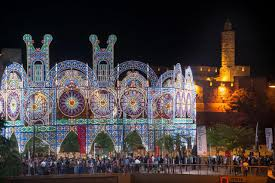 the lights fest ta 2017 lights in jerusalem jerusalem festival event