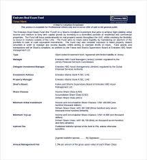 Estate Deal Sheet Template 12 Term Sheet Templates Free Sle Exle Format