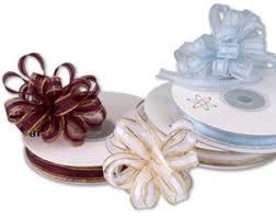 pull bow ribbon three wishes weddings home ribbon pull bows organza 10mm