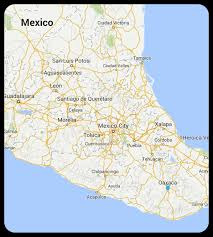 Queretaro Mexico Map by Queretaro Steeling Away