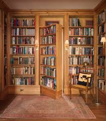 interior awesome secret room design with wooden bookaase door