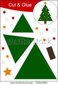 cut paste worksheet orange jam stock vector 690764347 shutterstock