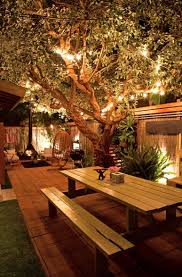 12 inspiring backyard lighting ideas backyard yards and gardens