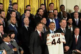 White House Tours Obama by World Series Champ Giants Visit White House For Third Time Upi Com