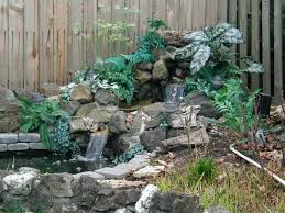 decorating home outdoor waterfall to be beauty e2 80 94 house