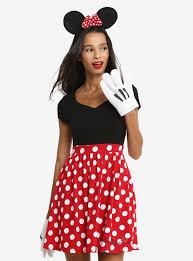 disney minnie mouse polka dot dress her universe