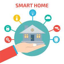 Smart Home Technology Smart House Technology Vector Illustration Stock Vector