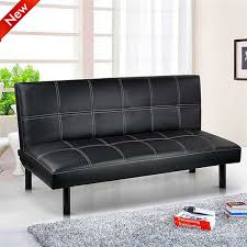 Cheap Leather Sofa Beds Uk by Popamazing Black Red Brown Super Strong Soft Sofa Bed Space