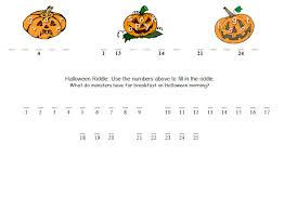 halloween math worksheets u0026 activities math game time