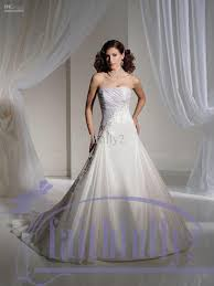 light blue and white combination wedding dress by sophia tolli